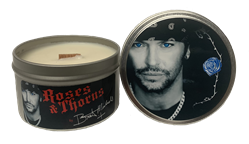 Bret Michaels Roses & Thorns Candle - Tin