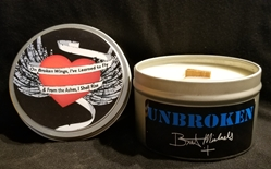 Bret Michaels Unbroken Candle - Tin