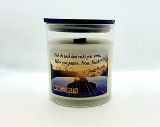 Find the Path LOvE+PLuS Candle Jar Bret Michaels, Brett Michaels, Bret Micheals, Brett Micheals, LIfestyle, Style, Life, Collection, Home, Inspiration, gifts, candle, LOVE+PLUS, Find the Path