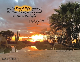 Ray of Hope Postcard