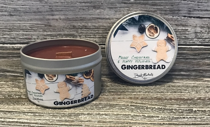Bret Michaels Gingerbread Candle - Tin