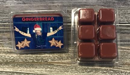 Bret Michaels Gingerbread (Photo) Candle - Wax Melts